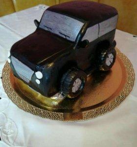 3D торты на заказ