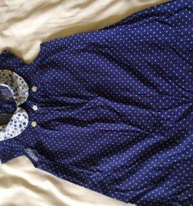 Летнее платье для девочки, 92 см