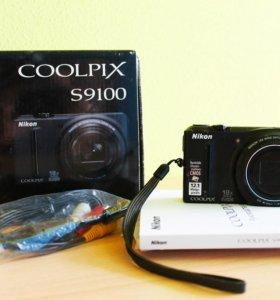 Фотоаппарат Nicon coolpix S9100