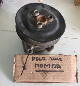 Помпа со шкивом Фольксваген Поло