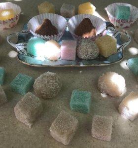 Сахарные скрабы для тела.