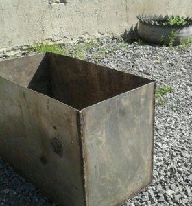 Колода для бани из нержавеющей стали