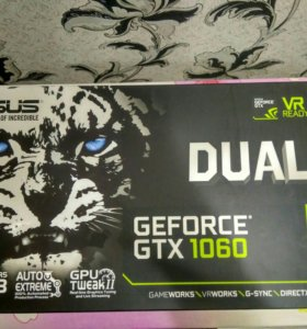 ASUS Dual GeForce GTX 1060 6G