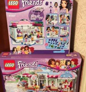 "Лего френдс: ""спа-салон для питомцев"" и ""кондитер"""