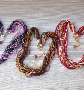 Бисерное ожерелье Murano