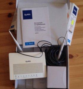 Zyxel интернет-центр/ роутер/ wifi