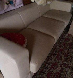 2 дивана из экокожи