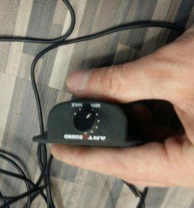 Регулятор громкости для усилителя или сабвуфера.