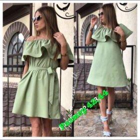 Платья модные летние