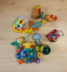 Игрушки для малыша от 6 месяцев пакетом