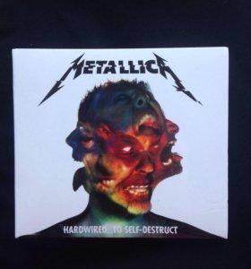 2 CD-диска группы Metallica
