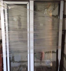 Готовое пластиковое окно