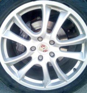 Колёса на Porsche Cayenne
