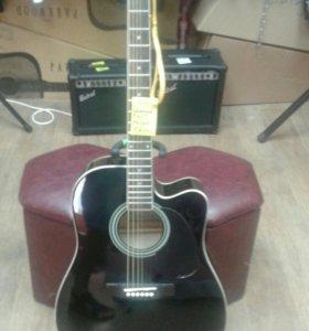 Акустическая гитара с вырезом Caraya f601