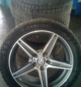 Колёса на Mercedes