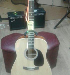 Акустическая вестерн гитара Homage 401c-b