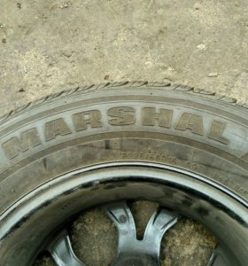 Комплект диски литые, резина Маршал 4шт