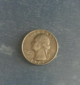 Mонета/перевертыш Liberty 1979 года