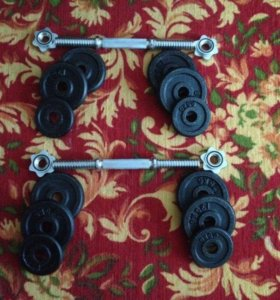 Сборные гантели 7,5 кг