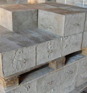 Фундаментный бетонный блок 600х300х200