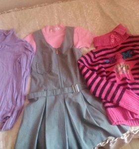 Вещи для девочки 8-10лет