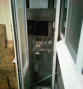 Дверь балконня