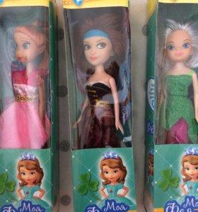 Куклы прекрасные принцессы Эльфы с крылышками.