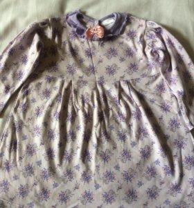 Летнее платье для девочки, 92 см, Мамуляндия