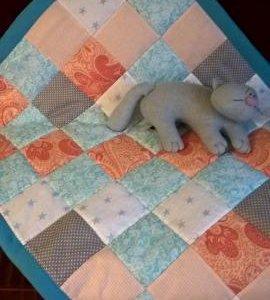 Детское одеяло размер 90*118 см