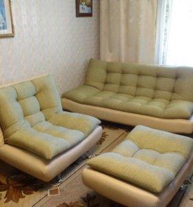 Набор мягкой мебели + диван