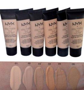 Матирующий тональный крем NYX