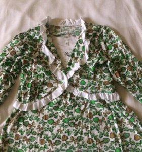 Летнее платье для девочки, 86 см