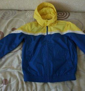 Новая мужская куртка, ветровка Erke 46р