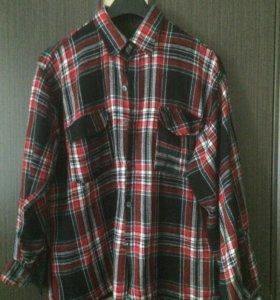 Рубашка мужская в отличном состоянии р56-58