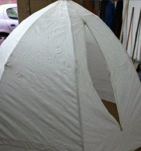 Палатка для зимней рыбалки на прочном каркасе
