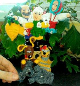 Пальчиковые игрушечки