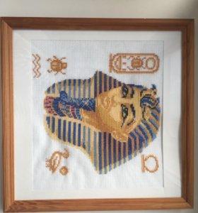 Тутанхамон вышивка крестом
