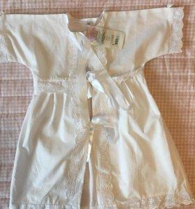 Крестильное платье р74