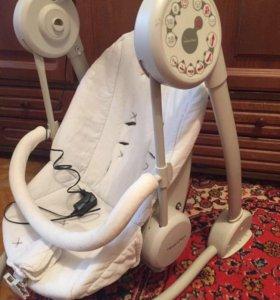 Качели-шезлонг для новорождённых