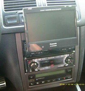 DVD плеер/магнитола - PANASONIC с выдвижным