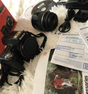 Проффисиональный зеркальный фотоаппарат Sony a35 +