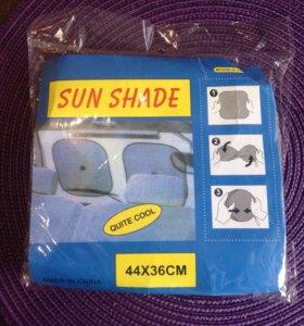 Солнцезащитные сетки на присосках в машину