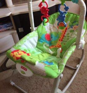 Портативное кресло качалка от Fisher Price