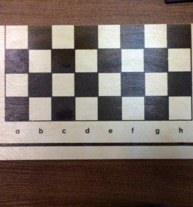 Набор четыре в одном :нарды,шашки ,лото ,карты.