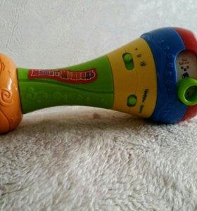 Музыкальный маракас Маша и Медведь