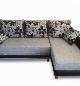 Угловой диван АРТ 704 (РОГОЖКА)