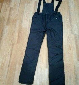 Продам штаны зимнии на лямках