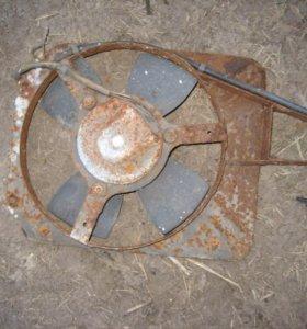 Диффузор с вентилятором для ВАЗ классика.