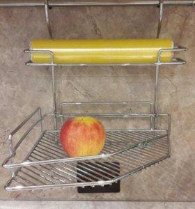 Полочки кухонные для рейлинга