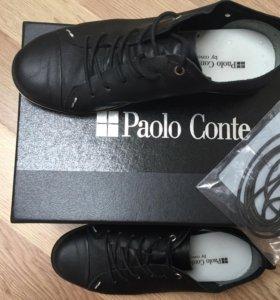 Кожаные ботинки/кеды Paolo Conte by cravocanela